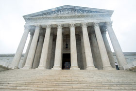 Exterior of Supreme Court of the United States